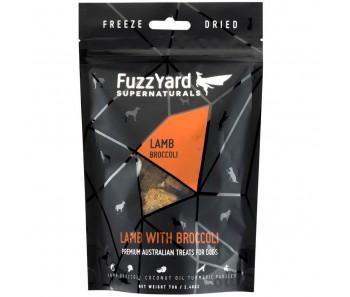 FuzzYard Supernaturals Lamb With Broccoli Freeze Dried Dog Treats 70g