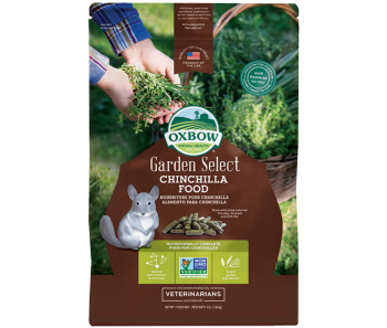 Oxbow Garden Select - Chinchilla Food 3lbs