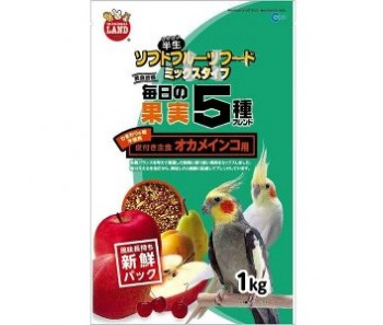 Marukan 5 Fruit Mixed Food for Cockatiel [MB202]