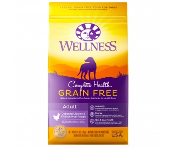 Wellness Complete Health Grain Free Adult Deboned Chicken & Chicken Meal Recipe - Available in 4lbs