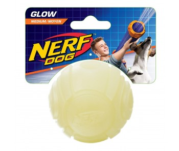 Nerf Dog Glow Tennis Ball