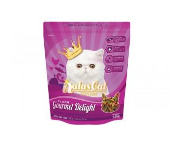 Aatas Cat Dry Gourmet Delight – Chicken & Tuna Flavour 1.2kg