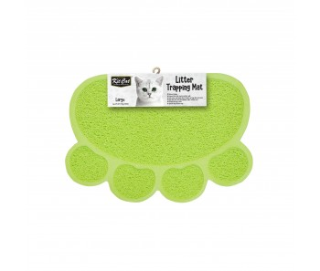Kit Cat Litter Trapping Mat (Large) - Green
