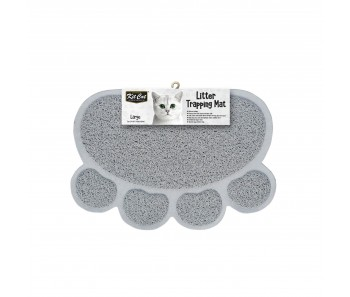 Kit Cat Litter Trapping Mat (Large) - Grey