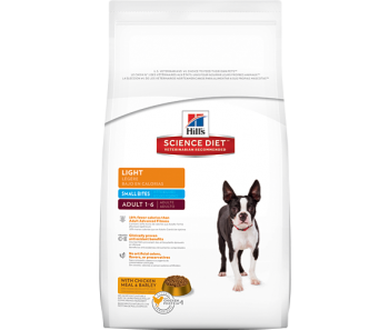 Science Diet Canine Adult Light Small Bites - Available in 2kg