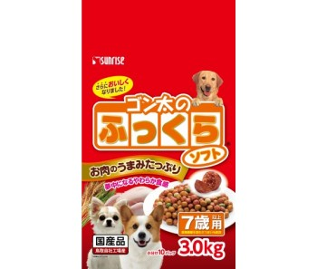 Sunrise Semi-Moist Food Chicken Senior 7+ - 3.0kg