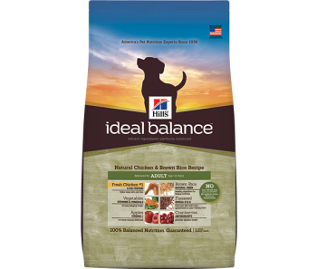 Hill's Ideal Balance Canine Adult Chicken & Brown Rice Recipe 4lbs