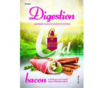 Greedy Dog Digestion Bacon
