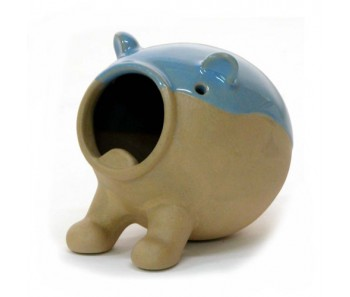 Wild Ceramic Hamster Bath House