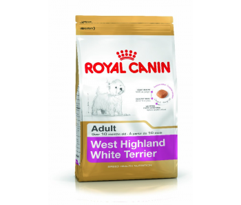 Royal Canin - Canine Breed West Highland White Terrier Adult 3kg