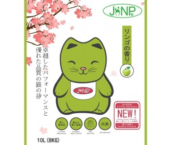 JANP Cat Clumping Litter Apple 10L