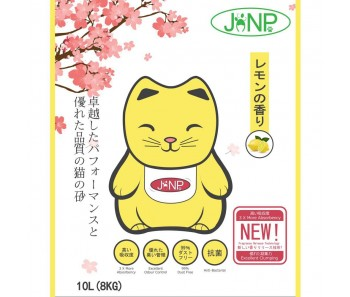 JANP Cat Clumping Litter Lemon 10L