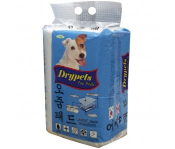 JANP DRYPETS PEE PADS PET SHEETS  LARGE 60x90 CM - 25PCS
