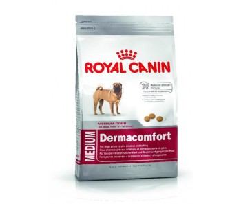 Royal Canin - Canine Medium DermaComfort - Availalble in 3kg & 10kg