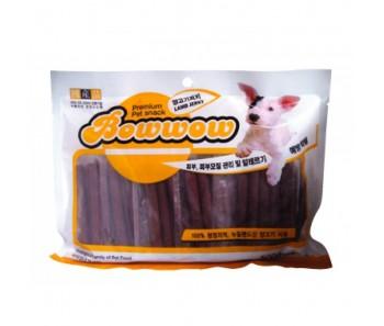 Bow Wow Dog Treats Lamb Jerky 500g