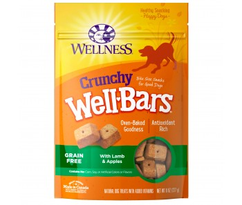 Wellness WellBar Lamb & Apples 8oz