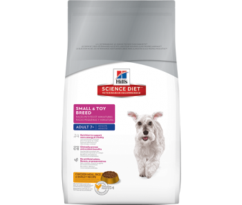 Science Diet Canine Small & Toy Breed Senior - Available in 1.5kg & 15.5lbs