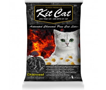 Kit Cat Pine Litter Charcoal 20lbs