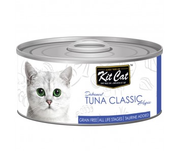 Kit Cat Canned Aspic - Deboned Tuna Classic 80g