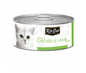 Kit Cat Canned Toppers - Deboned Chicken & Lamb 80g