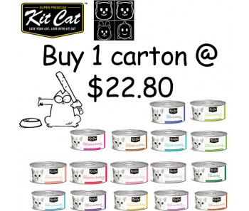 Kit Cat 'Canned' Bundle Mix - 24 cans for $22.80