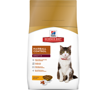 Science Diet Feline Hairball Control Adult - Available in 2kg, 4kg & 10kg