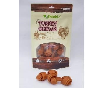 A Freschi srl Chews - Knotted Turkey Tendon Bone 130g