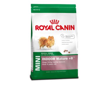 Royal Canin - Canine Mini Indoor Adult 8+ 1.5kg