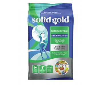 Solid Gold Dog Barking at the Moon - Duck, Peas & Eggs Recipe 22lbs