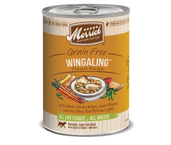 Merrick Dog Canned Classic Recipe Grain Free - Wing A Ling 374g