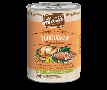 Merrick Dog Canned Classic Recipe Grain Free - Turducken 374g