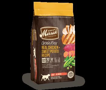 Merrick Dog Dry Grain Free Adult Chicken & Sweet Potato - '4lbs