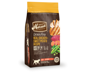 Merrick Dog Dry Grain Free Adult Chicken & Sweet Potato - 25lbs