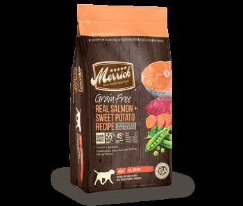 Merrick Dog Dry Grain Free Adult Salmon & Sweet Potato - 12lbs