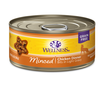 Wellness Cat Canned Complete Health™ Minced Chicken Dinner 5.5oz