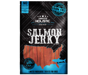 Absolute Holistic Grain-Free Salmon Loin Strip Dog Treat 100g
