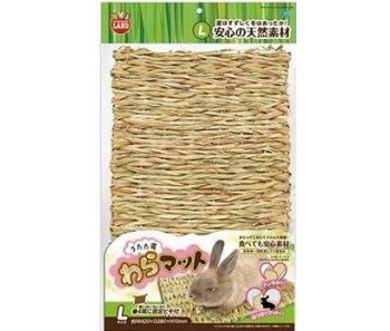 Marukan Straw Mat For Small Animals - L
