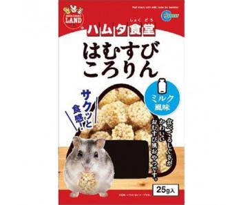 Marukan Puff Snack w/ Milk Taste for Hamster 25g [ML27]