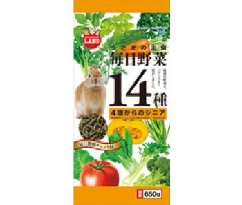 Marukan Daily Veggies 14 Senior for Rabbit 650g [ML40]
