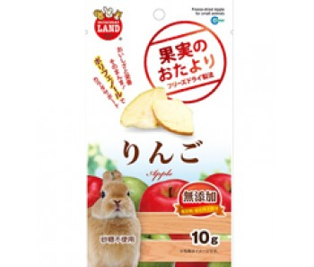 Marukan Freeze Dried Apple For Small Animals 10g [ML83]