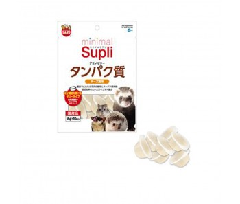 Marukan Minimal Supli Amino Jelly Protein Supplement (Cheese) For Small Animals 50g [ML96]