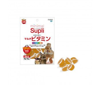 Marukan Minimal Supli Vitamin Jelly Supplement (Tropical Fruit) For Small Animals 50g [ML97]