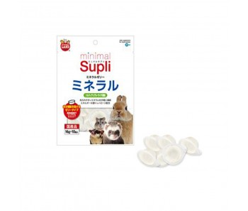 Marukan Minimal Supli Mineral Jelly Supplement (Apple Lychee) For Small Animals 50g [ML98]