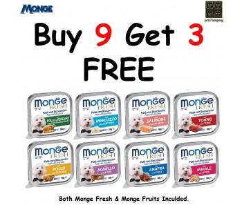 Monge Fresh Tray - Buy 9 get 3 Free