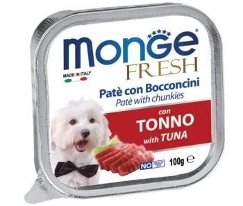 Monge Fresh Tuna Paté w Chunkies Tray 100g