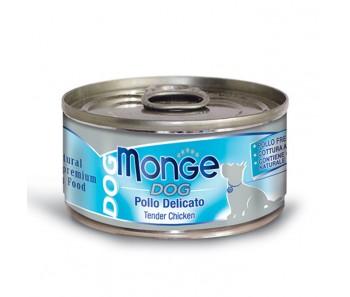 Monge Dog Canned Tender Chicken 95g