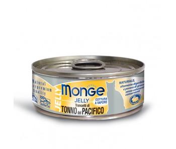 Monge Cat Canned Jelly Yellowfin Tuna 80g