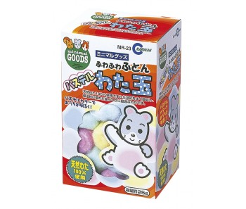 Marukan Coloured Cotton Ball 25g [MR23]