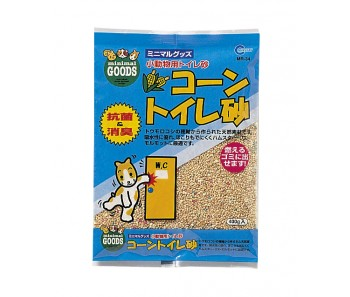 Marukan Corncob Toilet Sand for Hamster WC 400g [MR34]