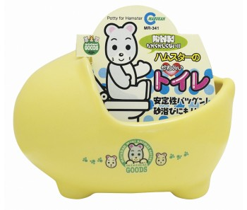 Marukan Hamster Porcelain Toilet [MR341]
